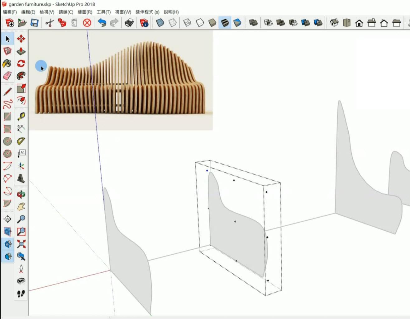 SketchUp外掛建模教學
