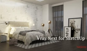 Vray Next for SketchUp|如何知道渲染時間?